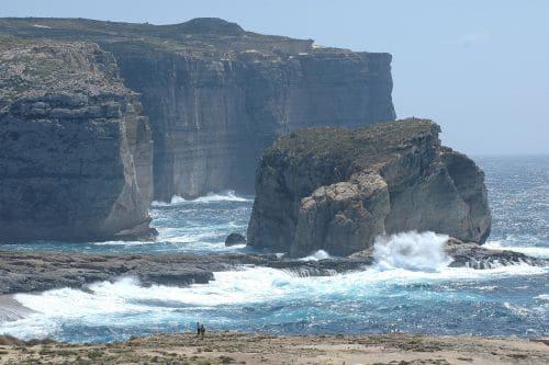Malta Gozo Dwejra Kliff