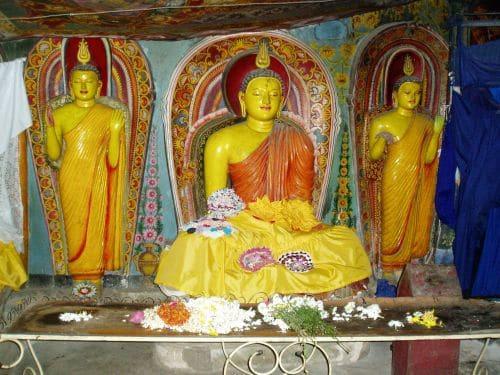 Sri Lanka Aluwihare Tempel