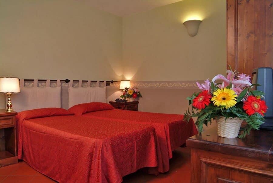 Klosterreisen hotel rom domus sessoriana doppelzimmer