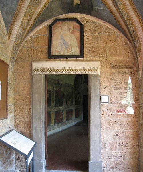 Klosterreisen_Italien_Subiaco_Kloster_Benedetto_kl
