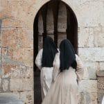 Klosterreisen, Italien, Benediktinerkloster, zwei Schwestern