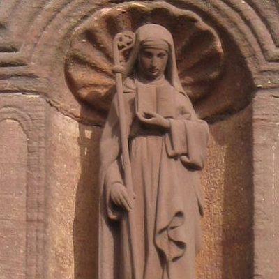 Kloster Odilienberg im Elsass, Frankreich