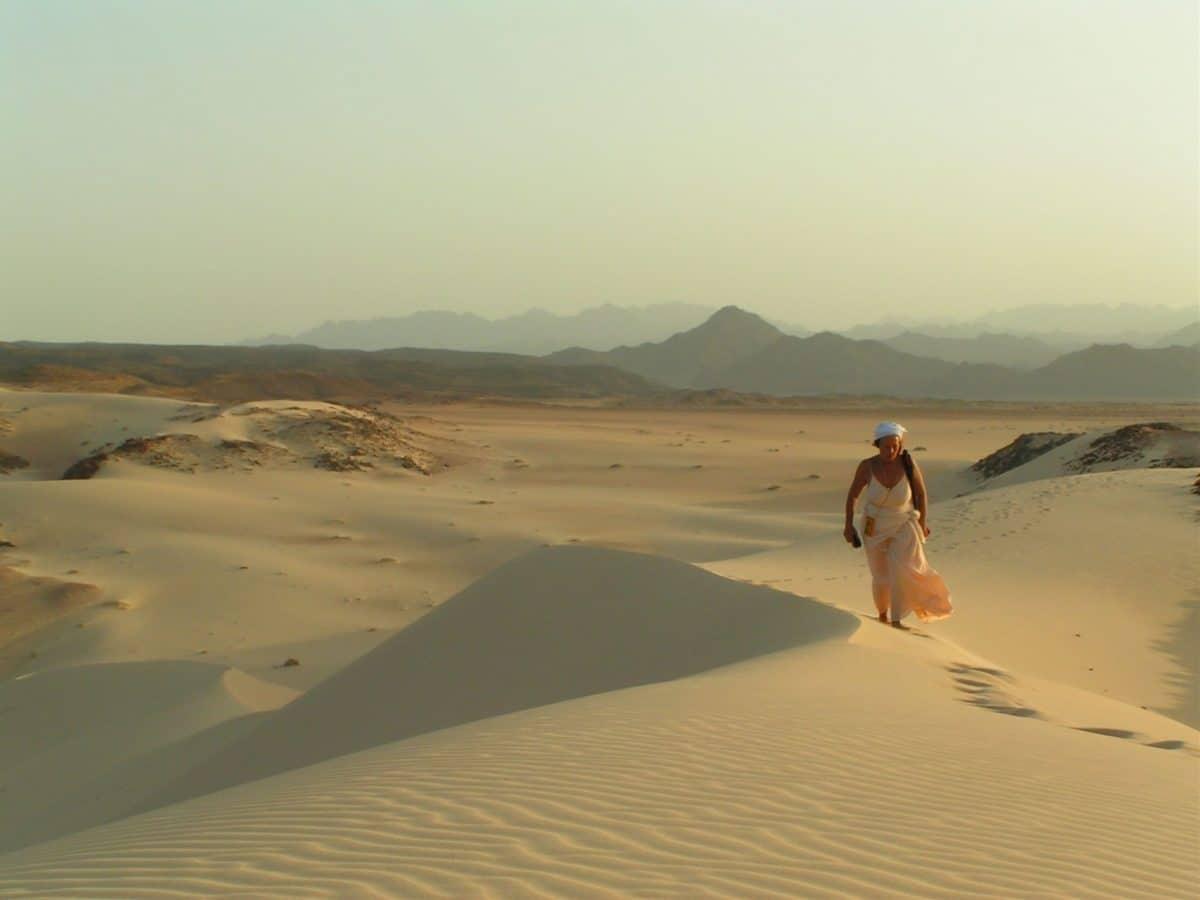Eremit auf Zeit in der Wüste Sinai