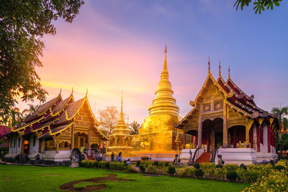 Vipassana Meditationskurs im Chiang Mai Kloster, Thailand