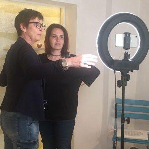 Videocoaching mit Anja Steinhoerster persönliches Coaching Kameraposition