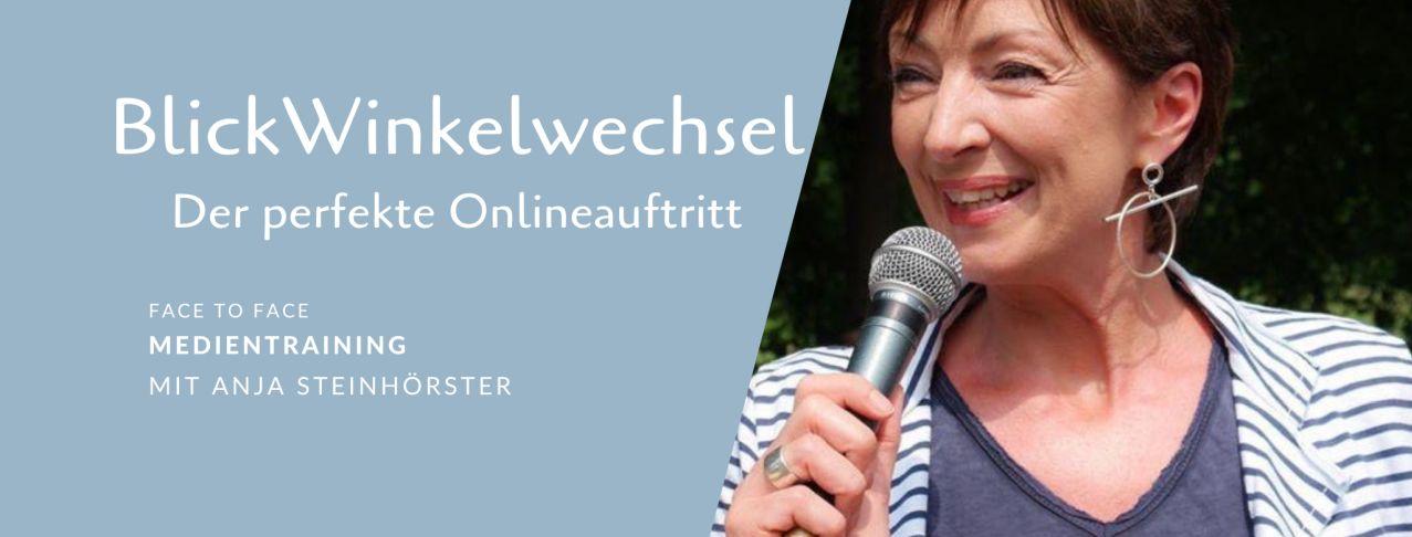 Medientraining mit Anja Steinhoerster