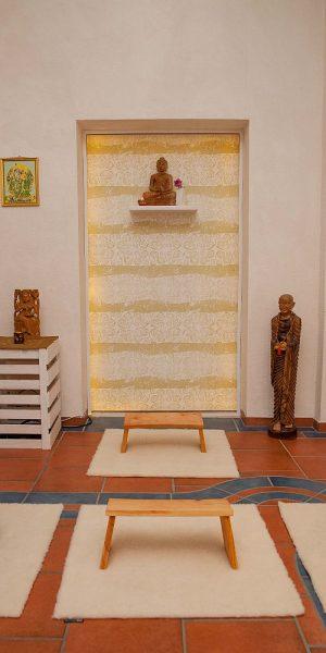 Klosterreisen Meditation