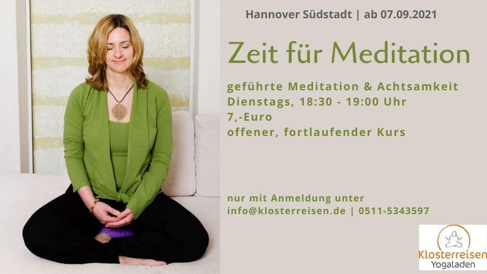 Meditationskurs Hannover