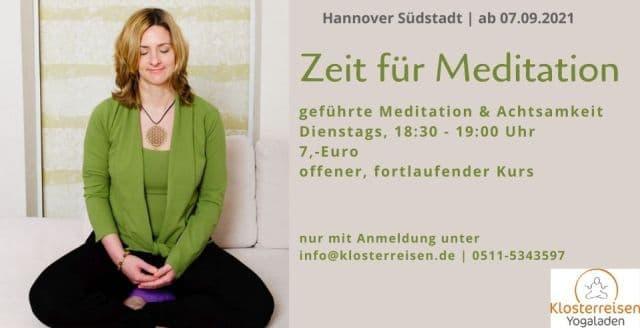 Klosterreisen Yogaladen Meditationskurs